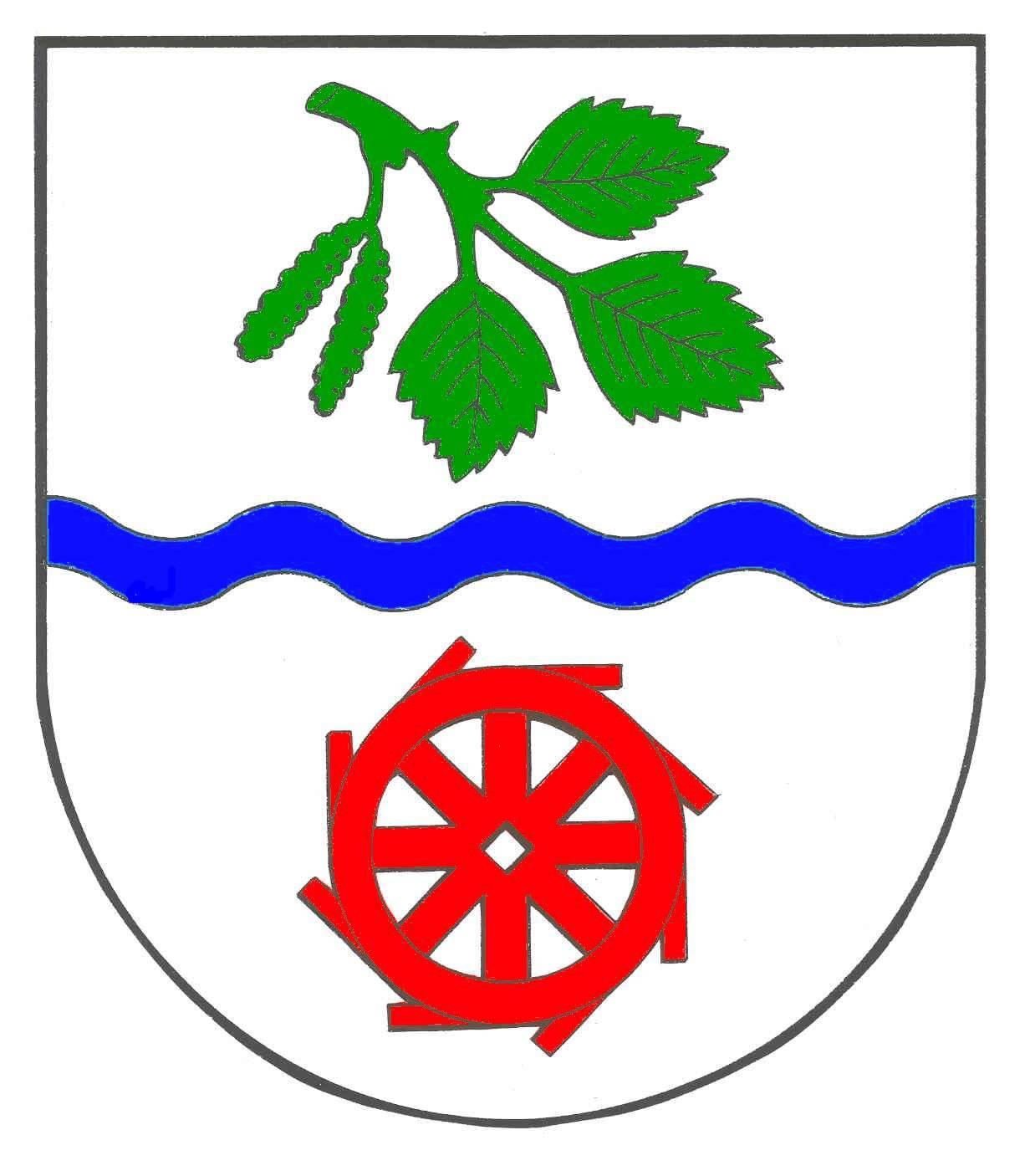 Wappen GemeindeBrickeln, Kreis Dithmarschen