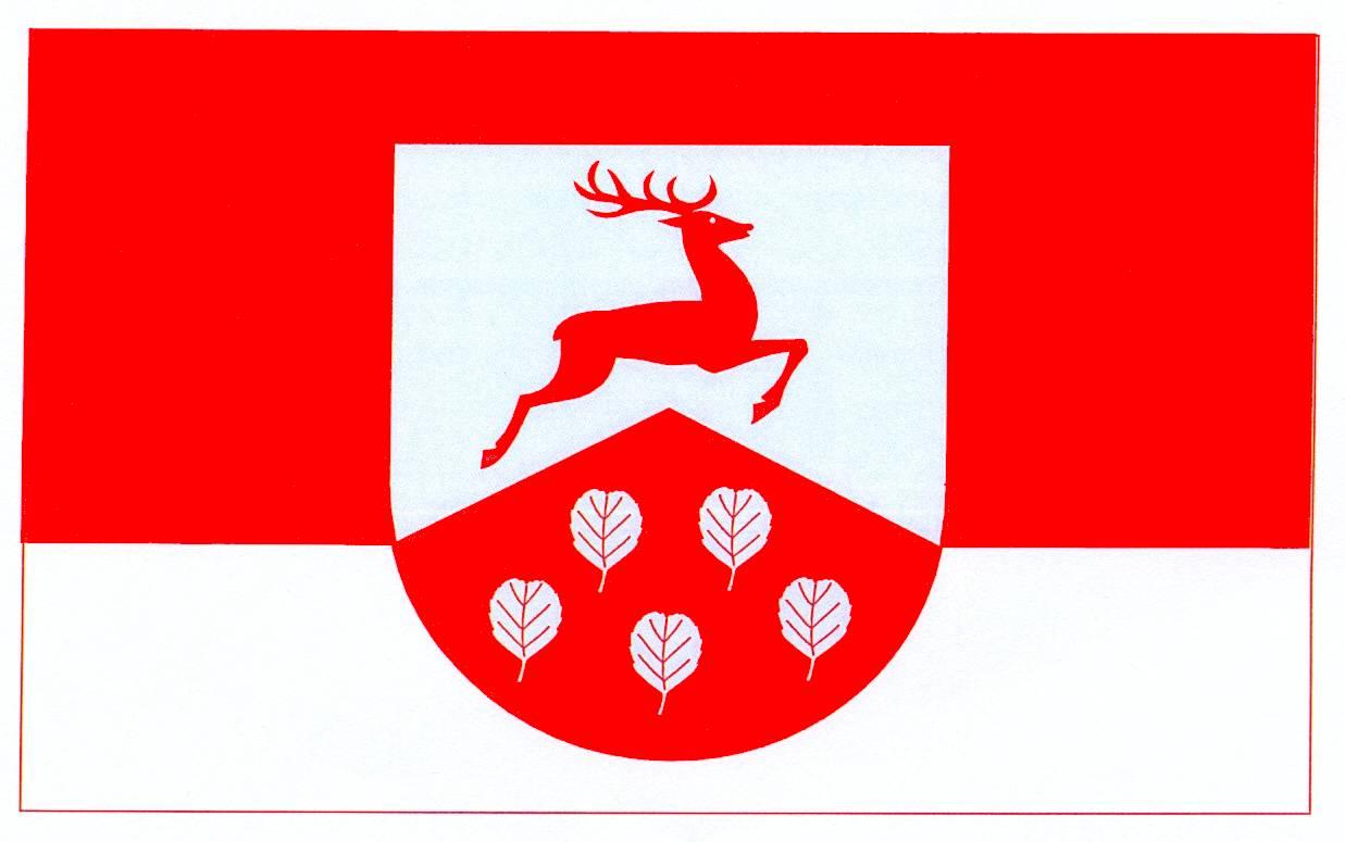 Flagge GemeindeBrinjahe, Kreis Rendsburg-Eckernförde