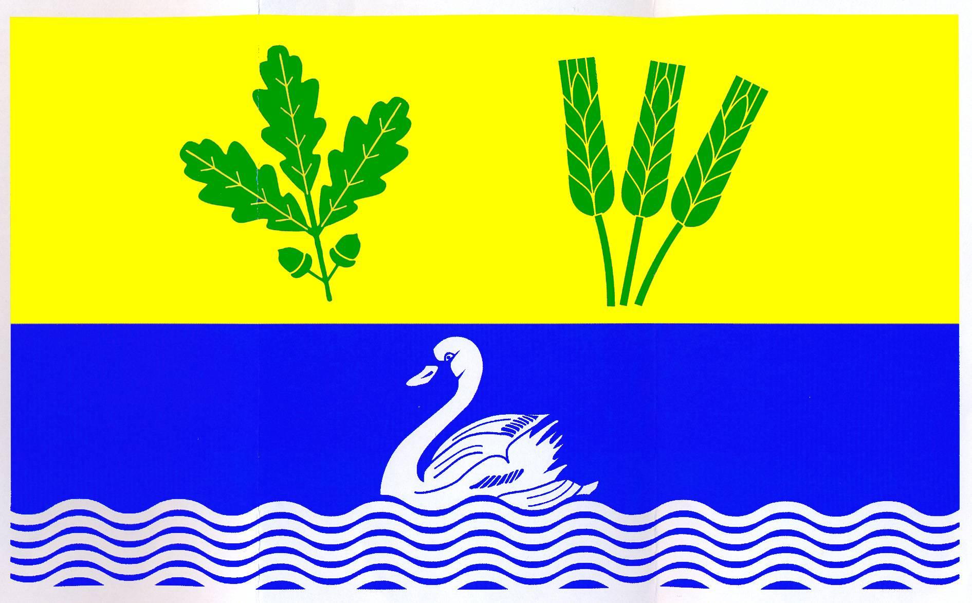 Flagge GemeindeBrodersby, Kreis Rendsburg-Eckernförde