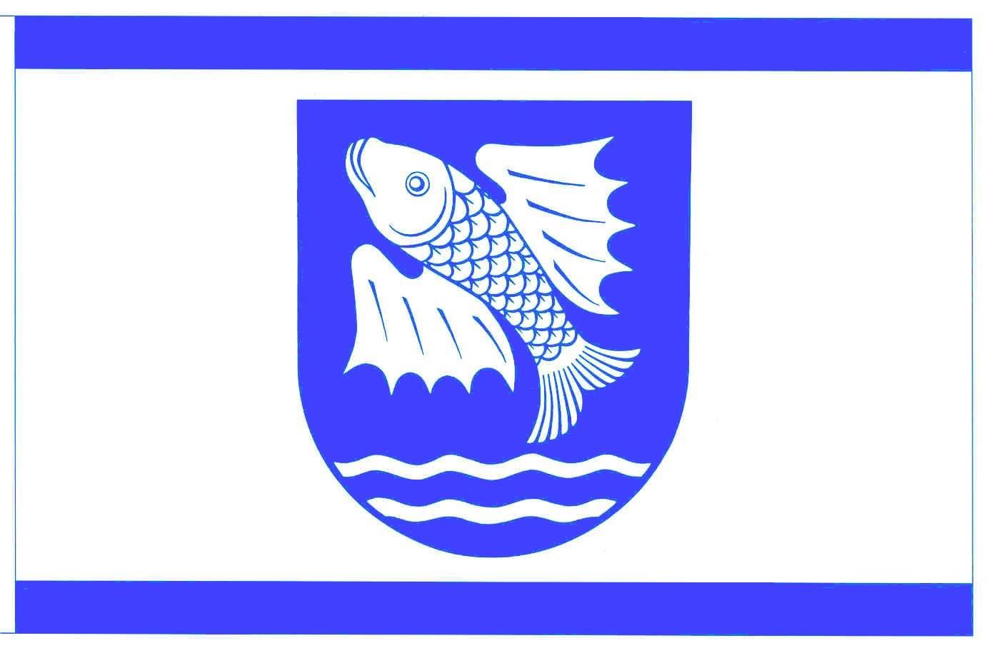 Flagge GemeindeBrokdorf, Kreis Steinburg