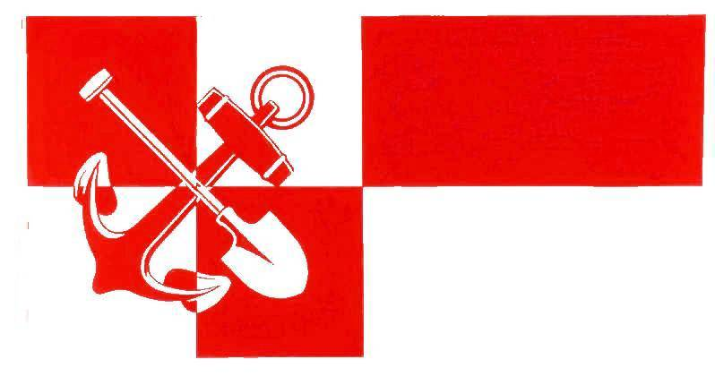 Flagge StadtBrunsbüttel, Kreis Dithmarschen