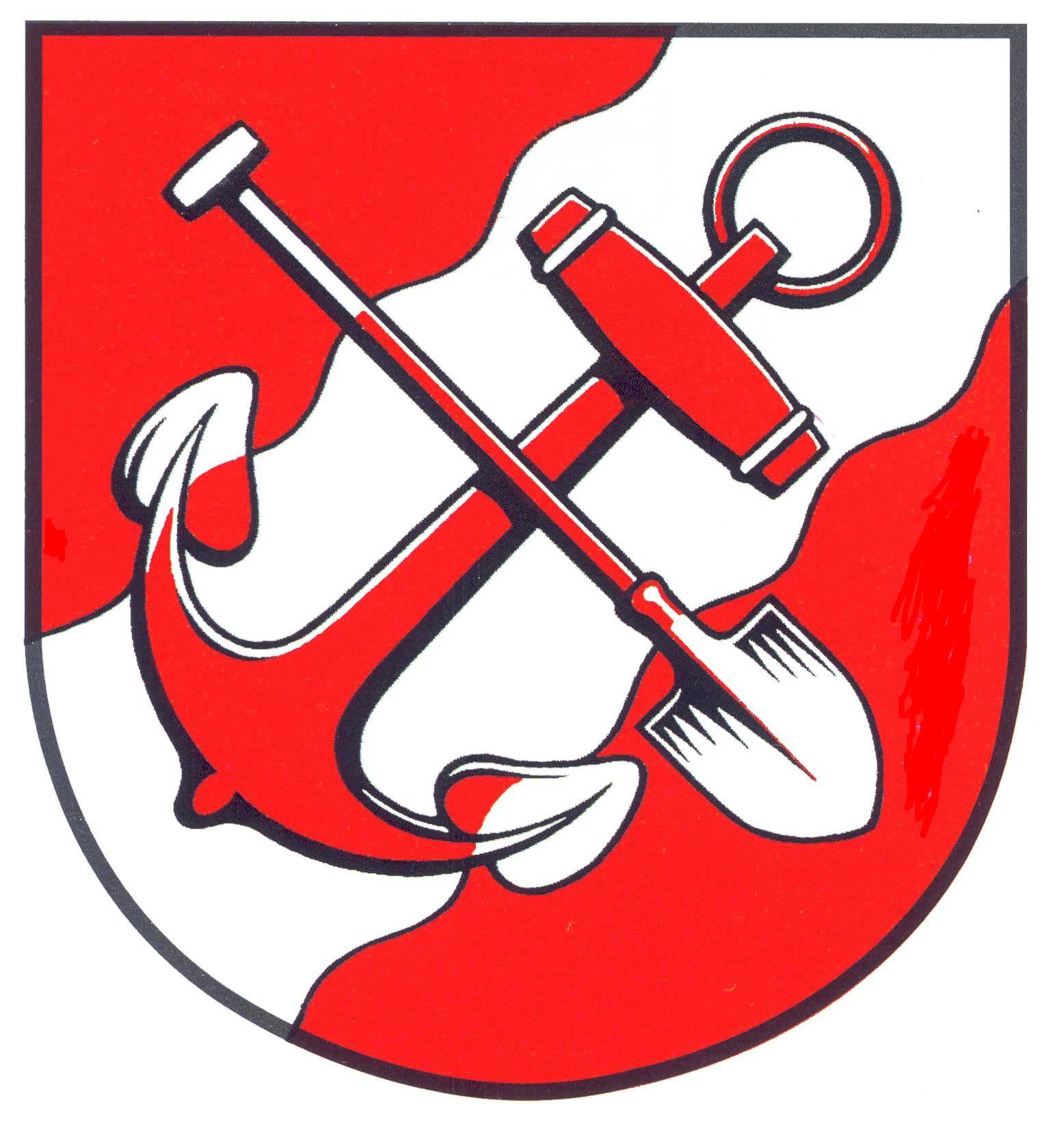 Wappen StadtBrunsbüttel, Kreis Dithmarschen