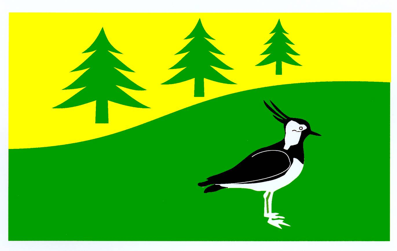 Flagge GemeindeBrunsmark, Kreis Herzogtum Lauenburg