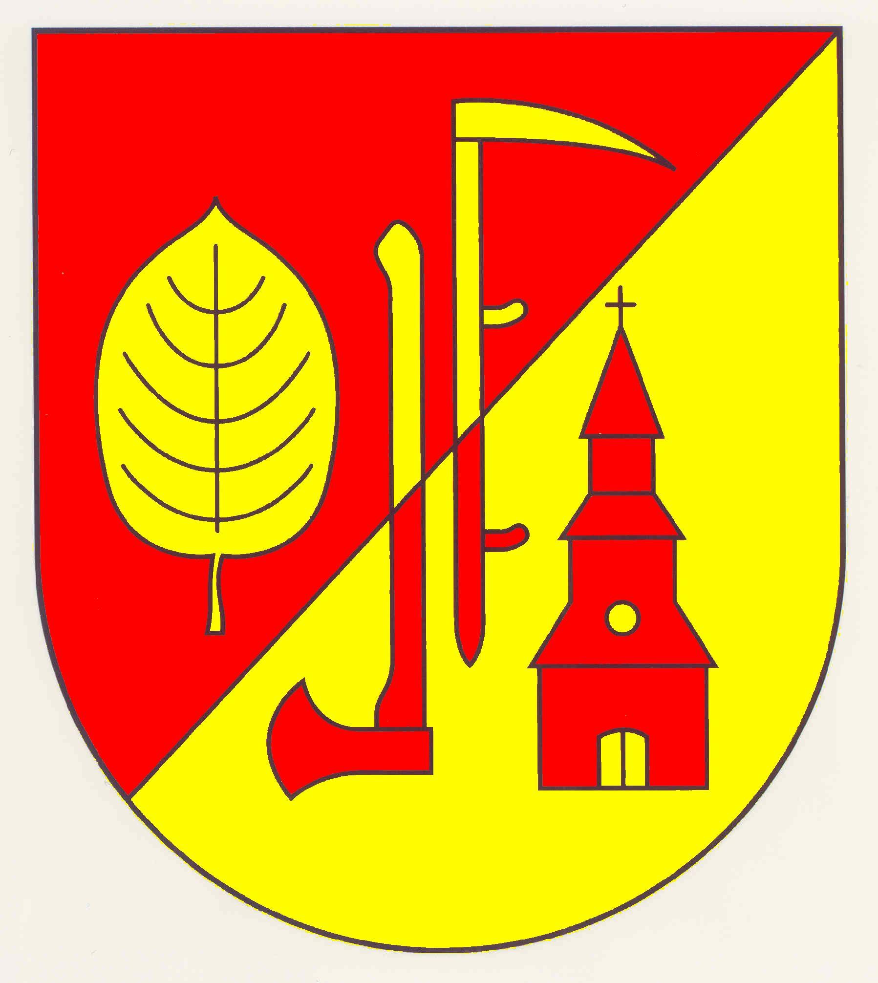 Wappen GemeindeBrunstorf, Kreis Herzogtum Lauenburg