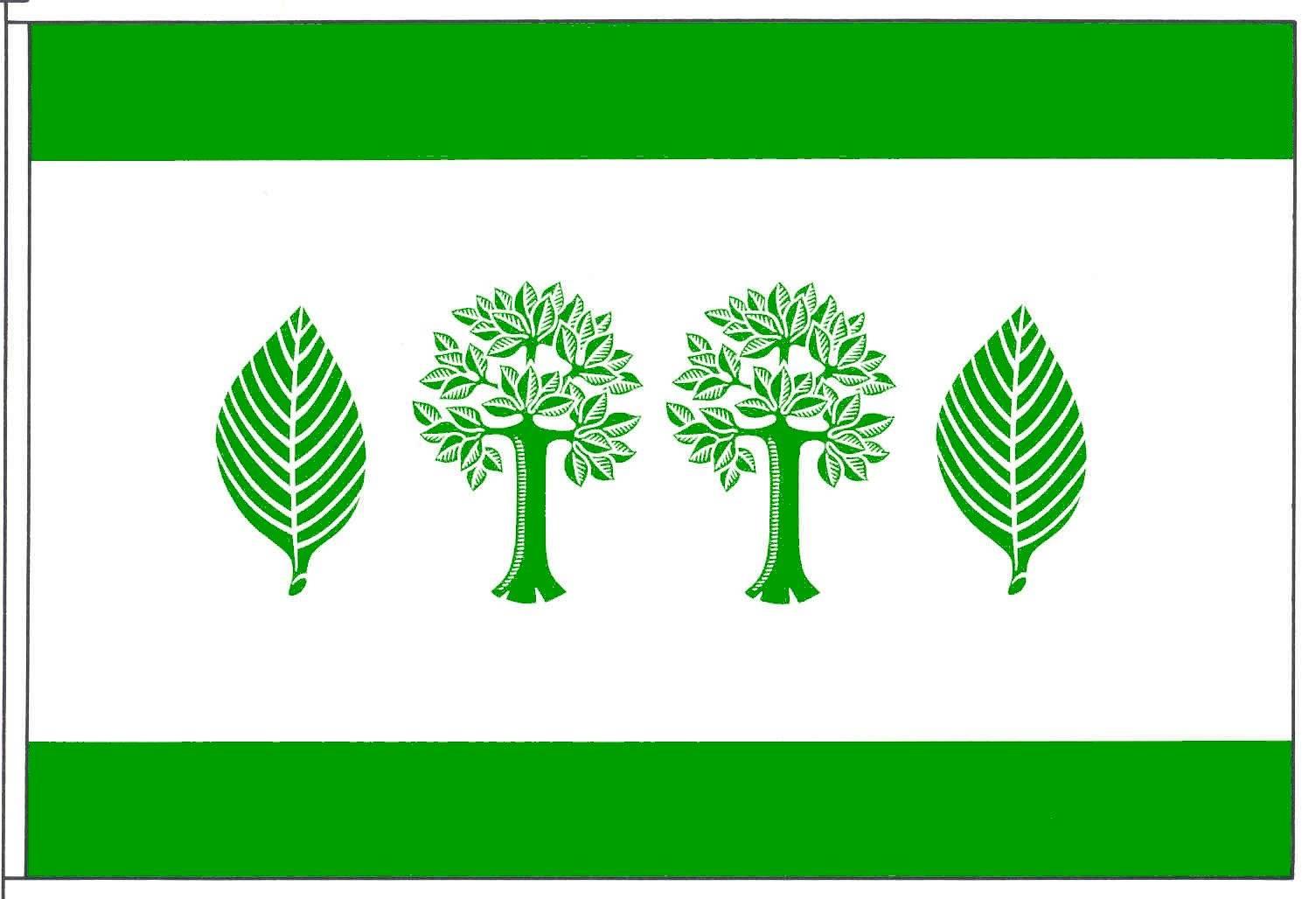 Flagge GemeindeBuchholz, Kreis Dithmarschen