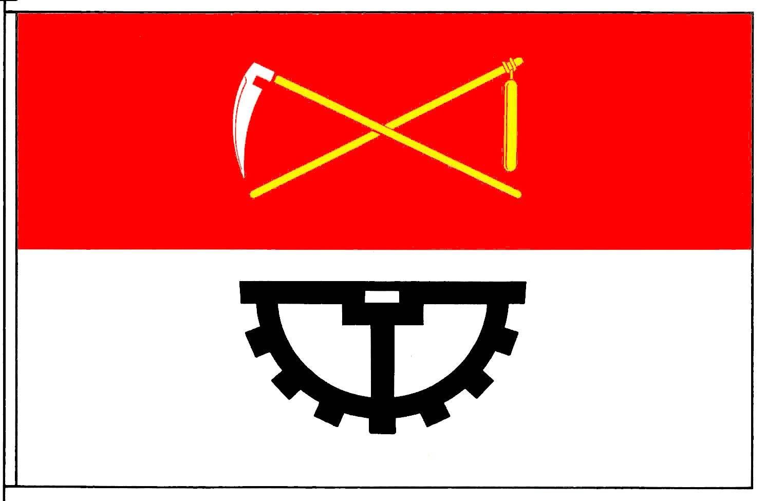 Flagge StadtBüdelsdorf, Kreis Rendsburg-Eckernförde