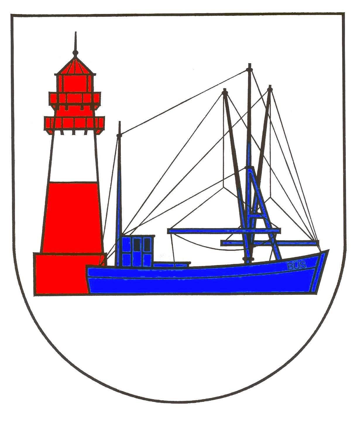 Wappen GemeindeBüsum, Kreis Dithmarschen
