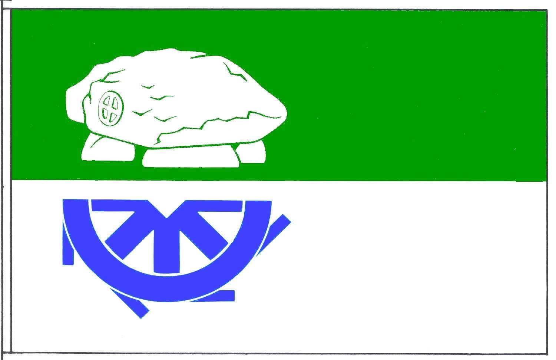 Flagge GemeindeBunsoh, Kreis Dithmarschen