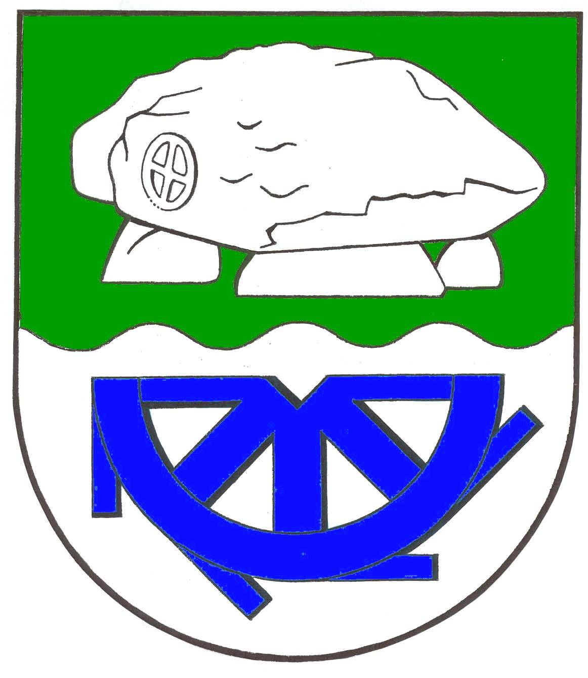 Wappen GemeindeBunsoh, Kreis Dithmarschen