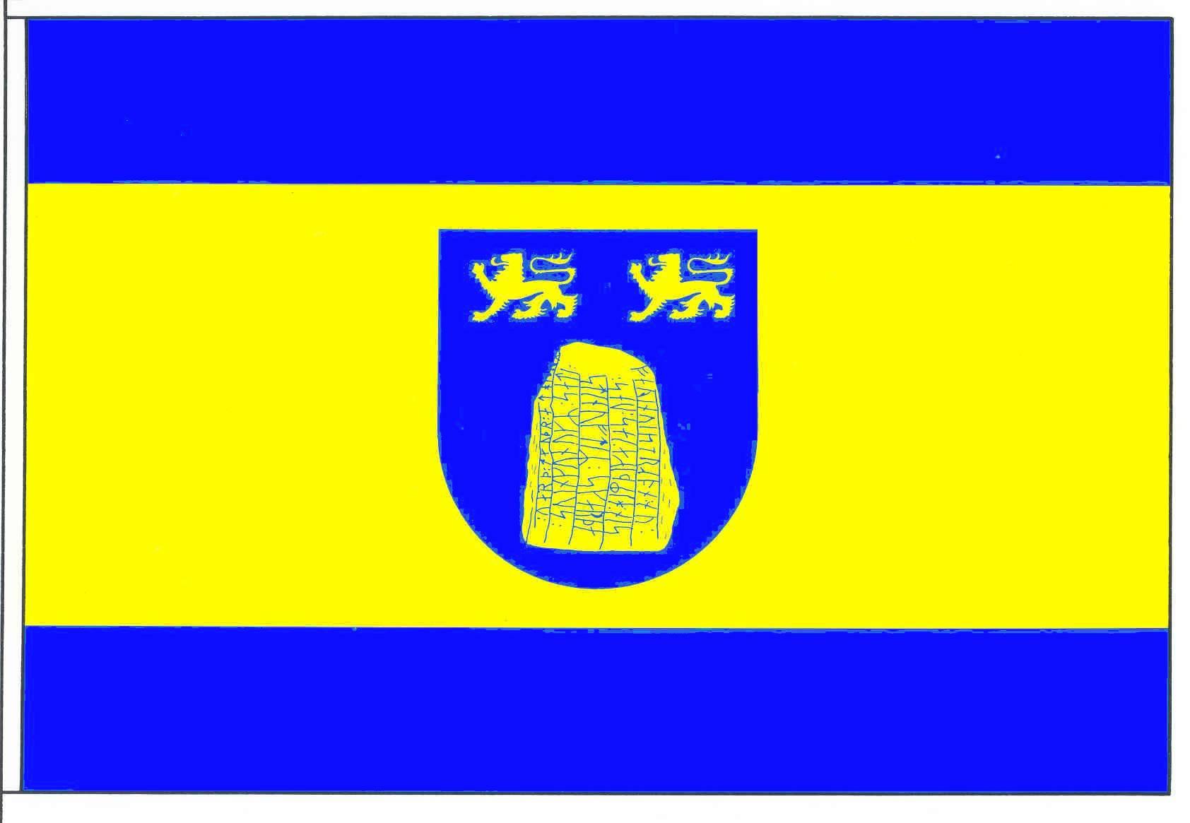Flagge GemeindeBusdorf, Kreis Schleswig-Flensburg