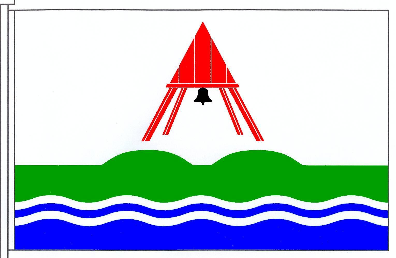 Flagge GemeindeBusenwurth, Kreis Dithmarschen