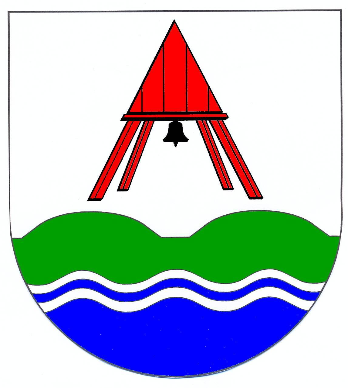 Wappen GemeindeBusenwurth, Kreis Dithmarschen