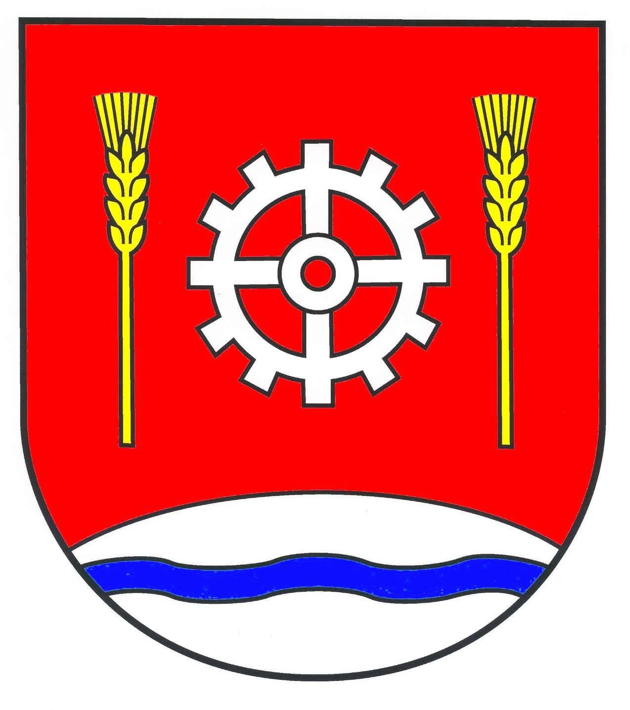 Wappen GemeindeDägeling, Kreis Steinburg