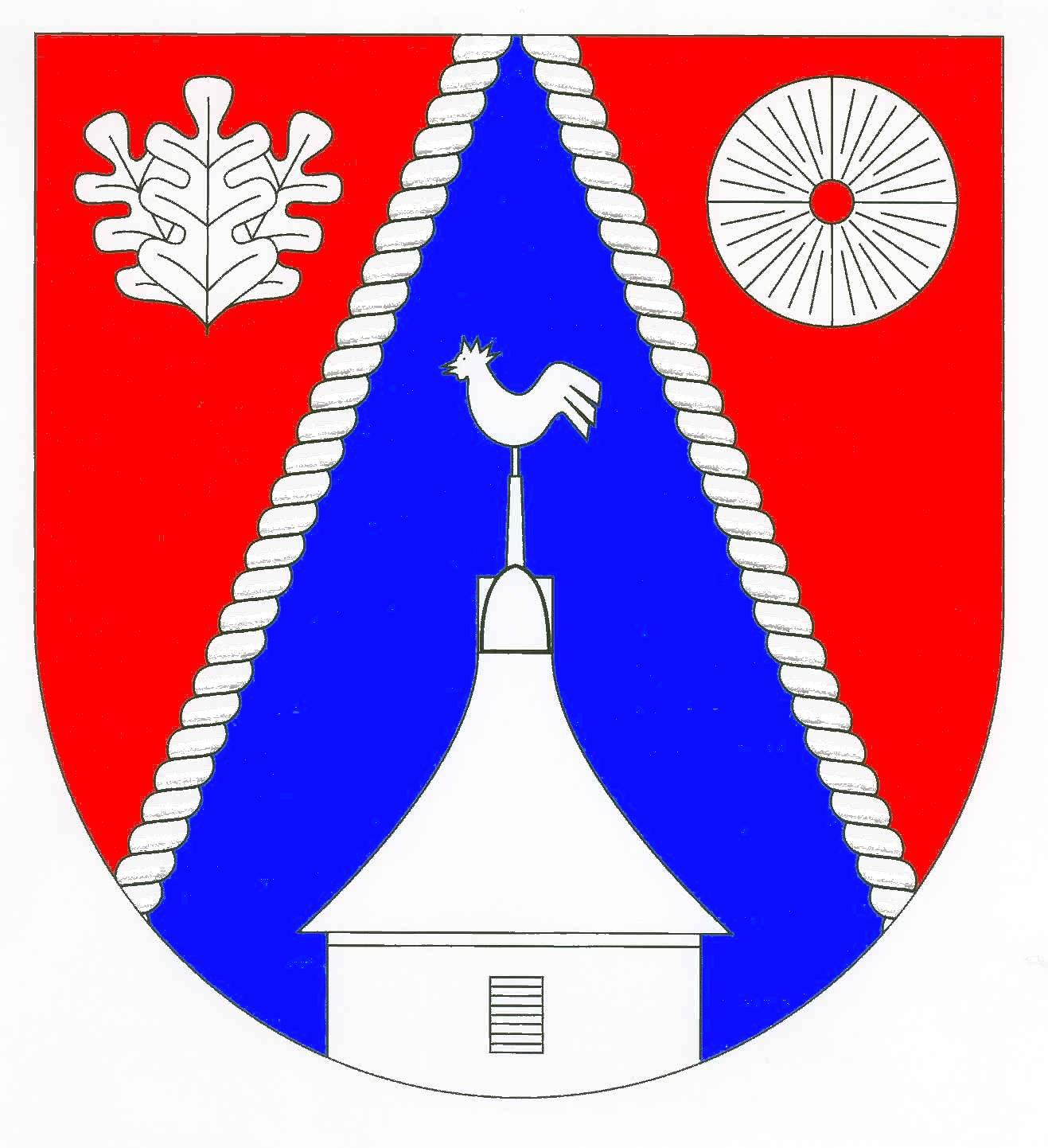 Wappen GemeindeDänischenhagen, Kreis Rendsburg-Eckernförde