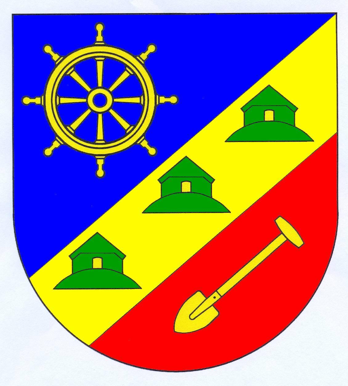 Wappen GemeindeDagebüll, Kreis Nordfriesland