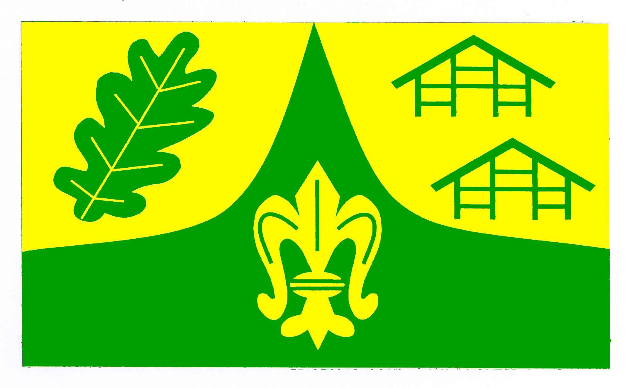 Flagge GemeindeDahmker, Kreis Herzogtum Lauenburg