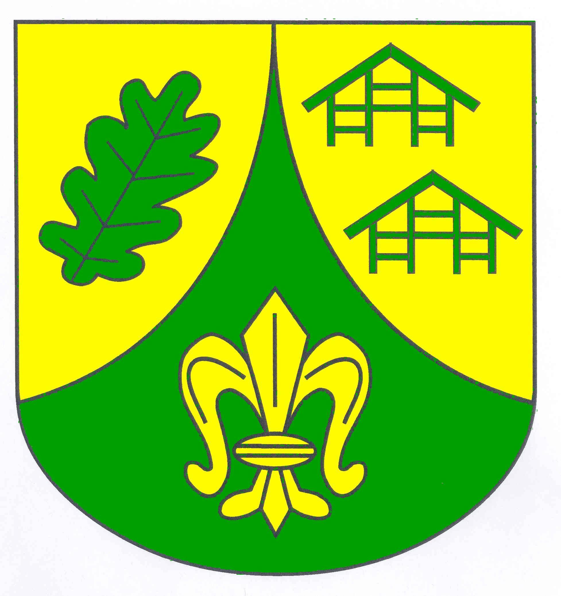 Wappen GemeindeDahmker, Kreis Herzogtum Lauenburg