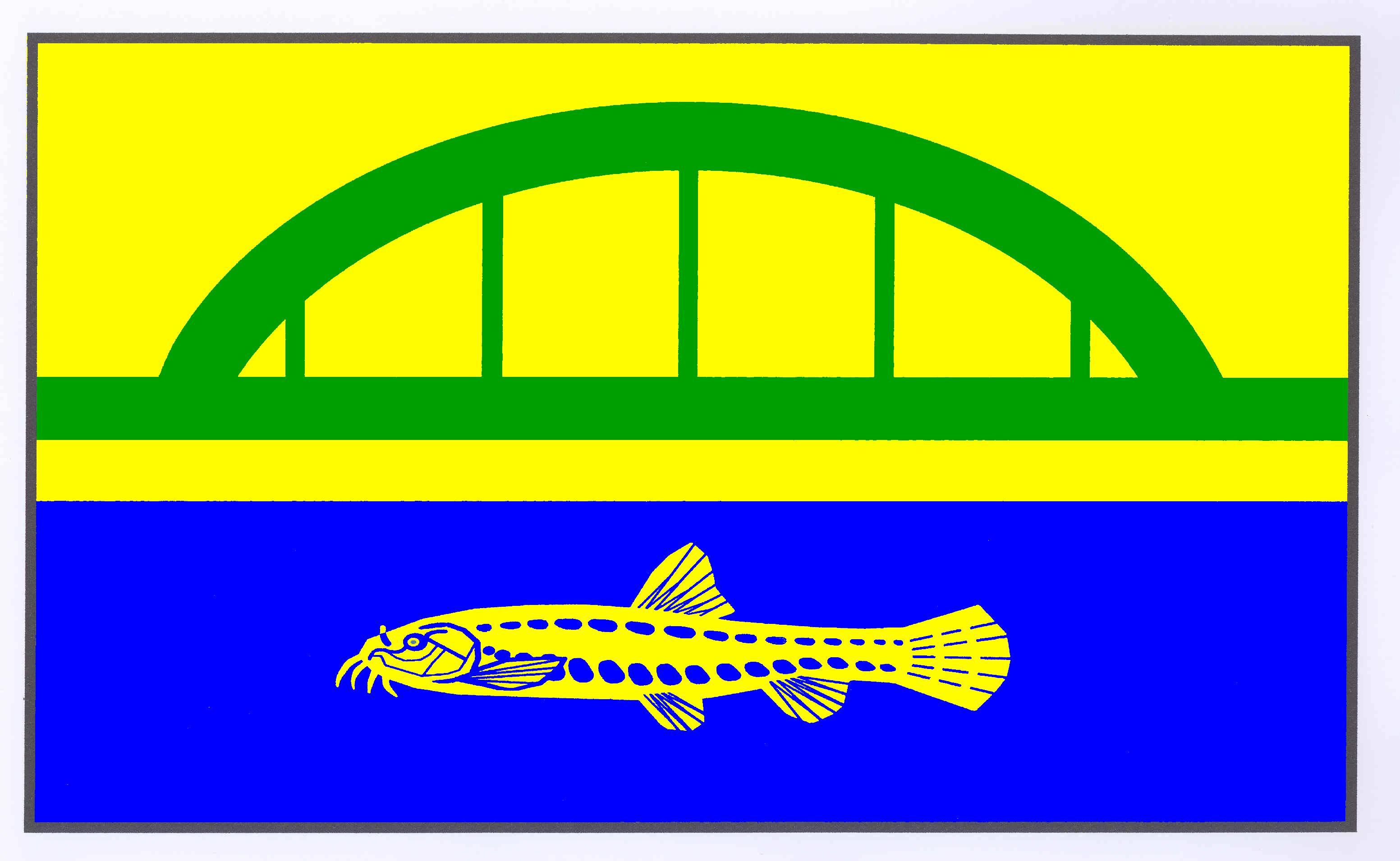 Flagge GemeindeDalldorf, Kreis Herzogtum Lauenburg