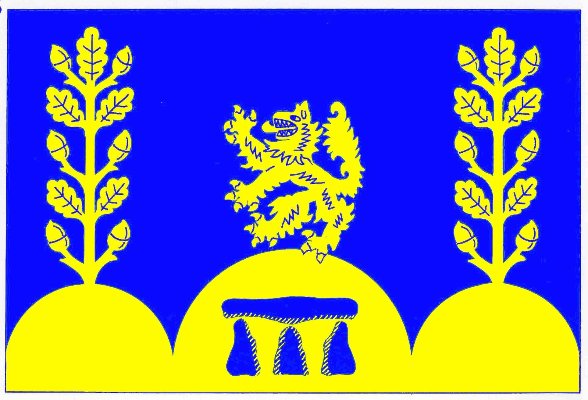 Flagge GemeindeDamendorf, Kreis Rendsburg-Eckernförde