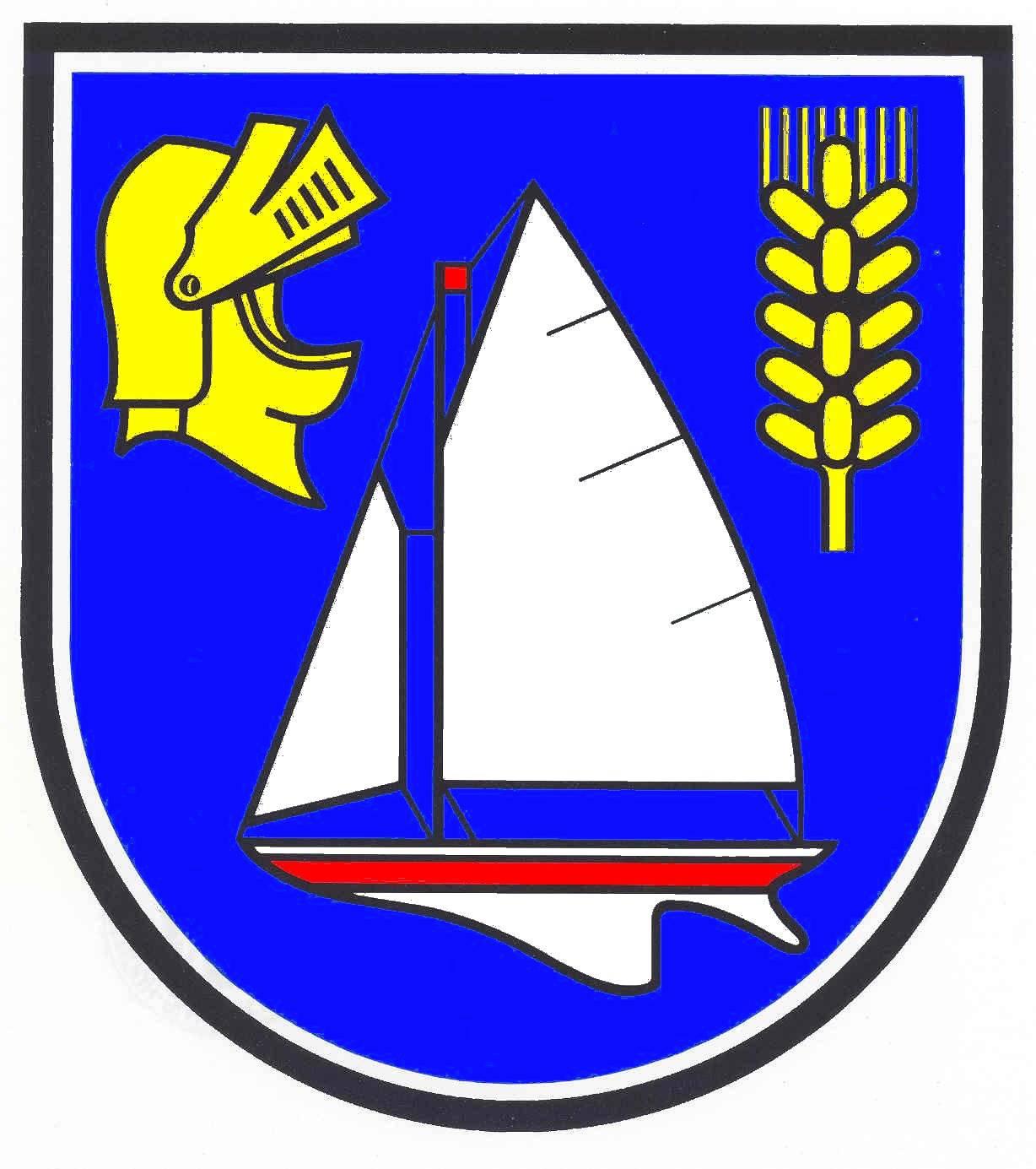 Wappen GemeindeDamp, Kreis Rendsburg-Eckernförde