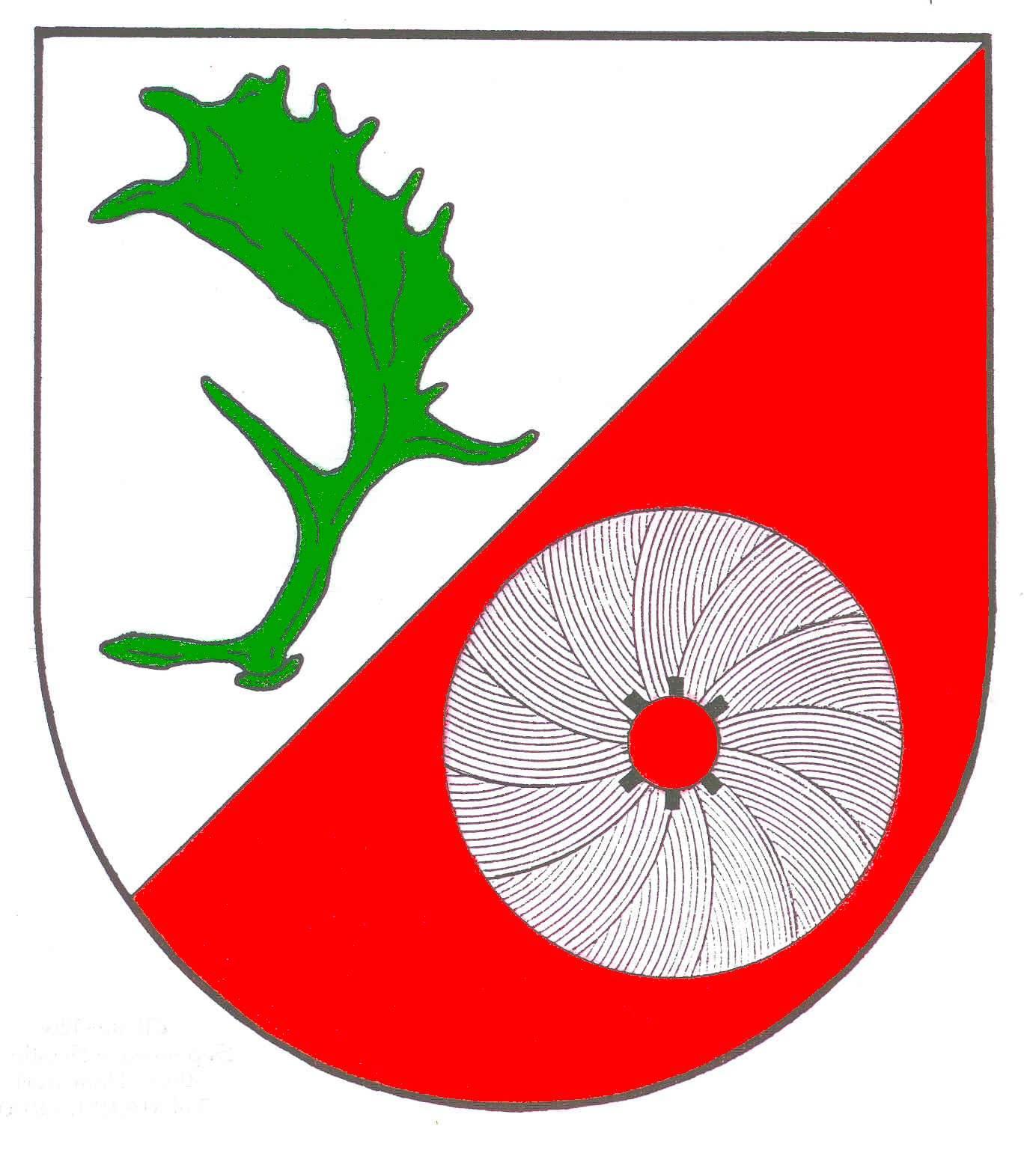 Wappen GemeindeDamsdorf, Kreis Segeberg