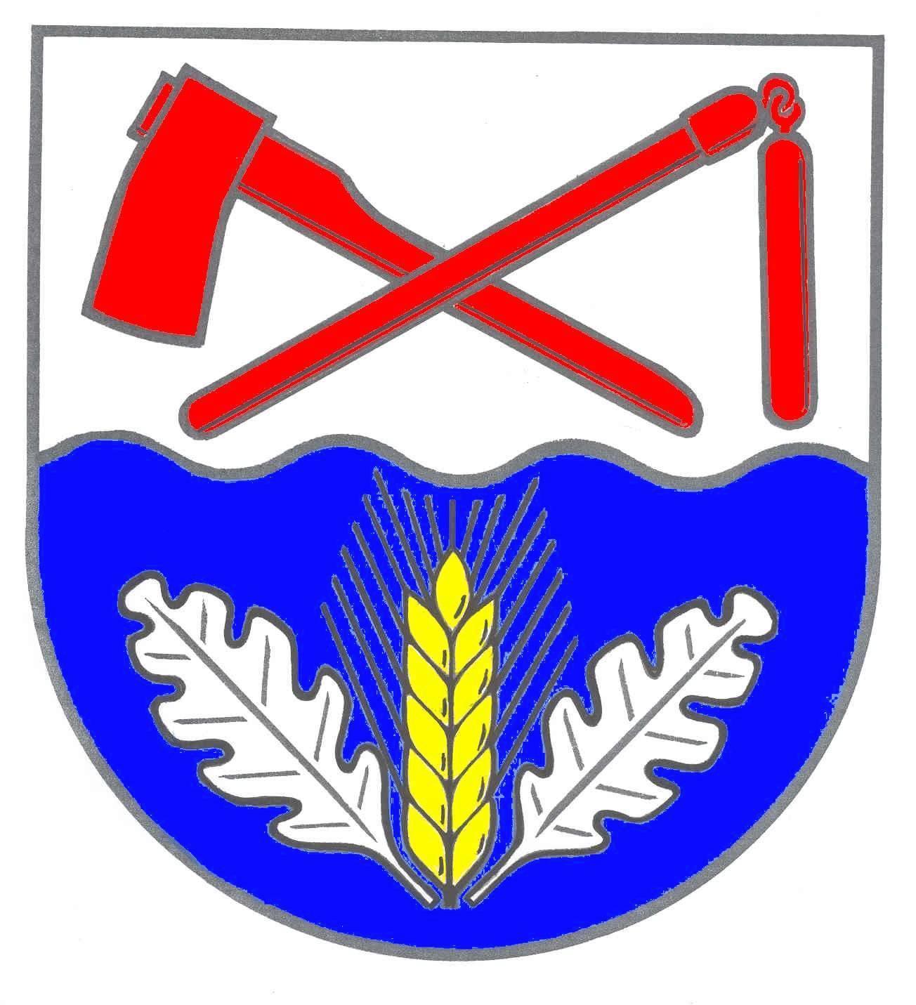 Wappen GemeindeDannau, Kreis Plön