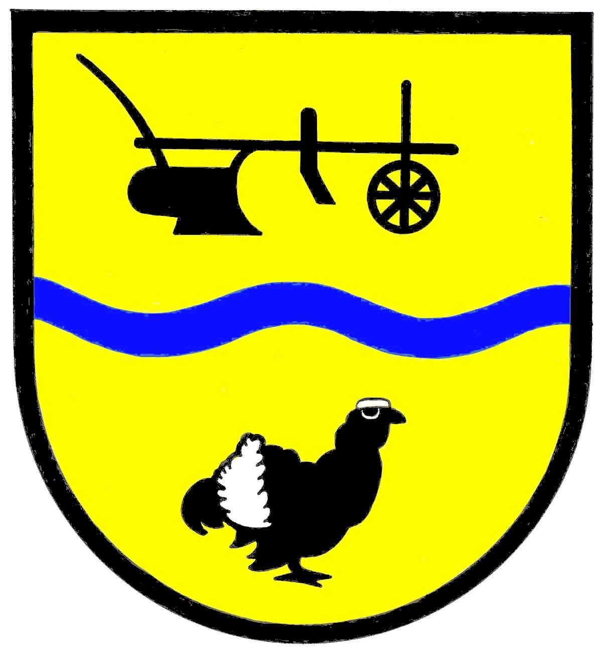Wappen GemeindeDellstedt, Kreis Dithmarschen