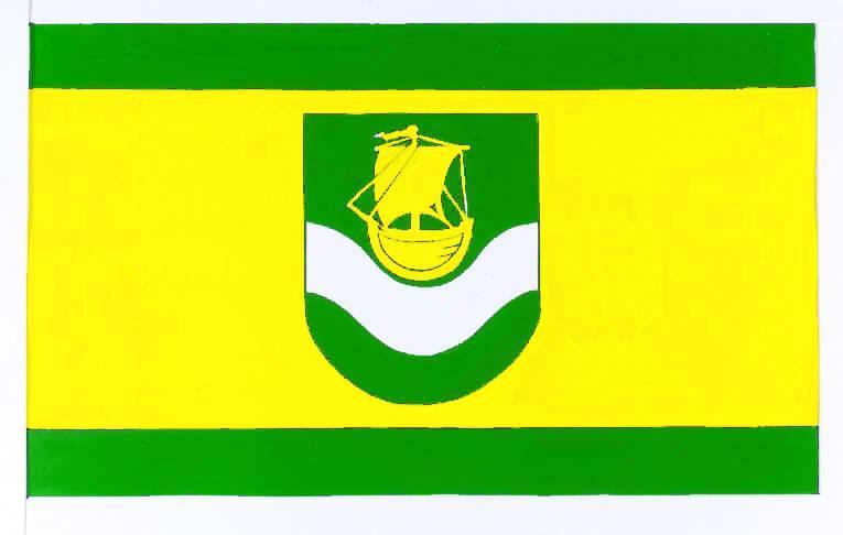 Flagge GemeindeDelve, Kreis Dithmarschen