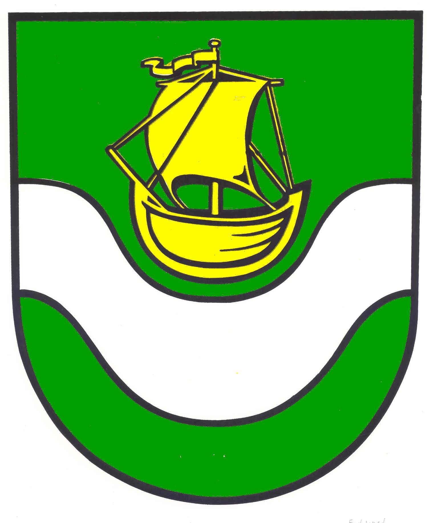 Wappen GemeindeDelve, Kreis Dithmarschen