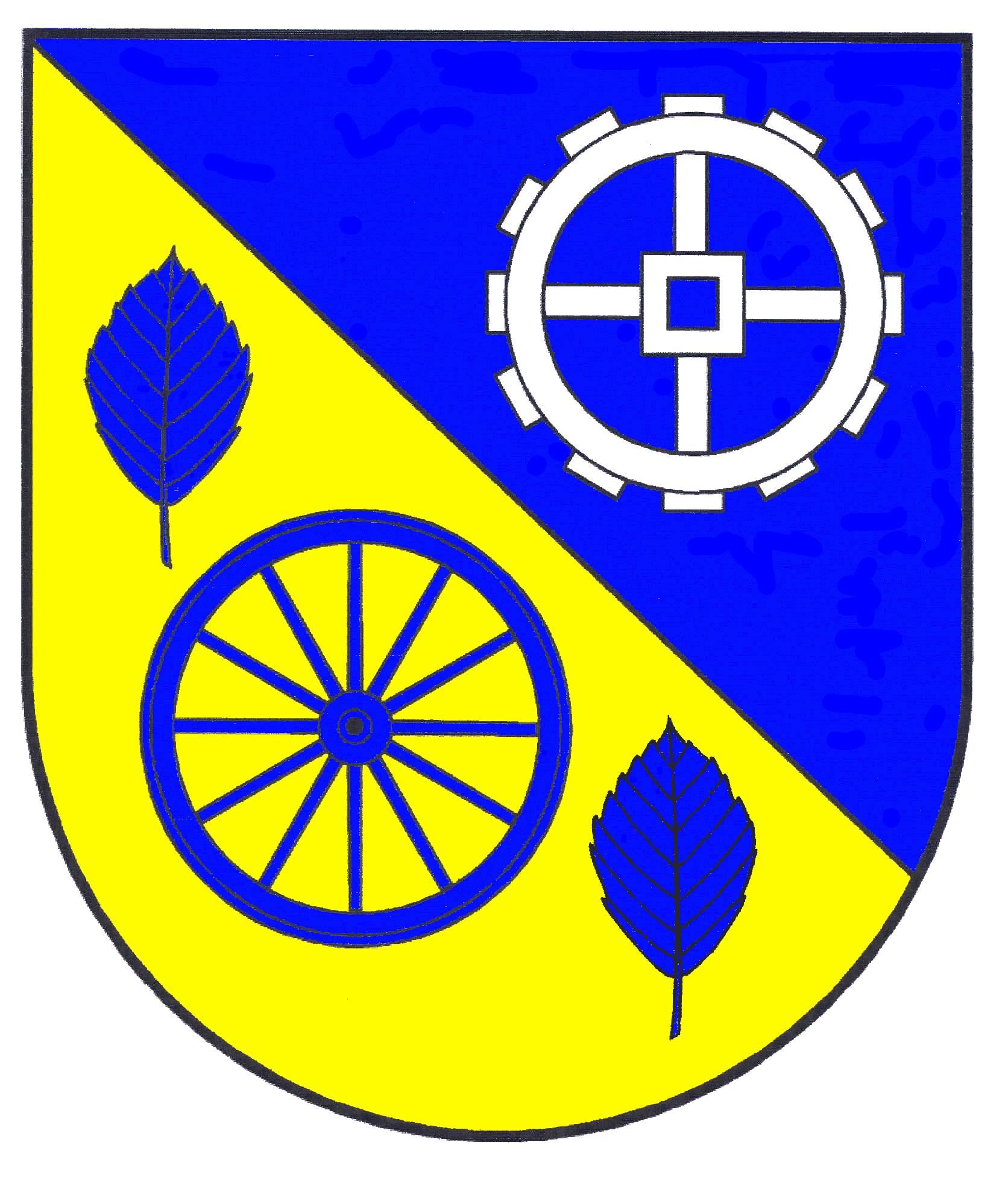 Wappen GemeindeDersau, Kreis Plön