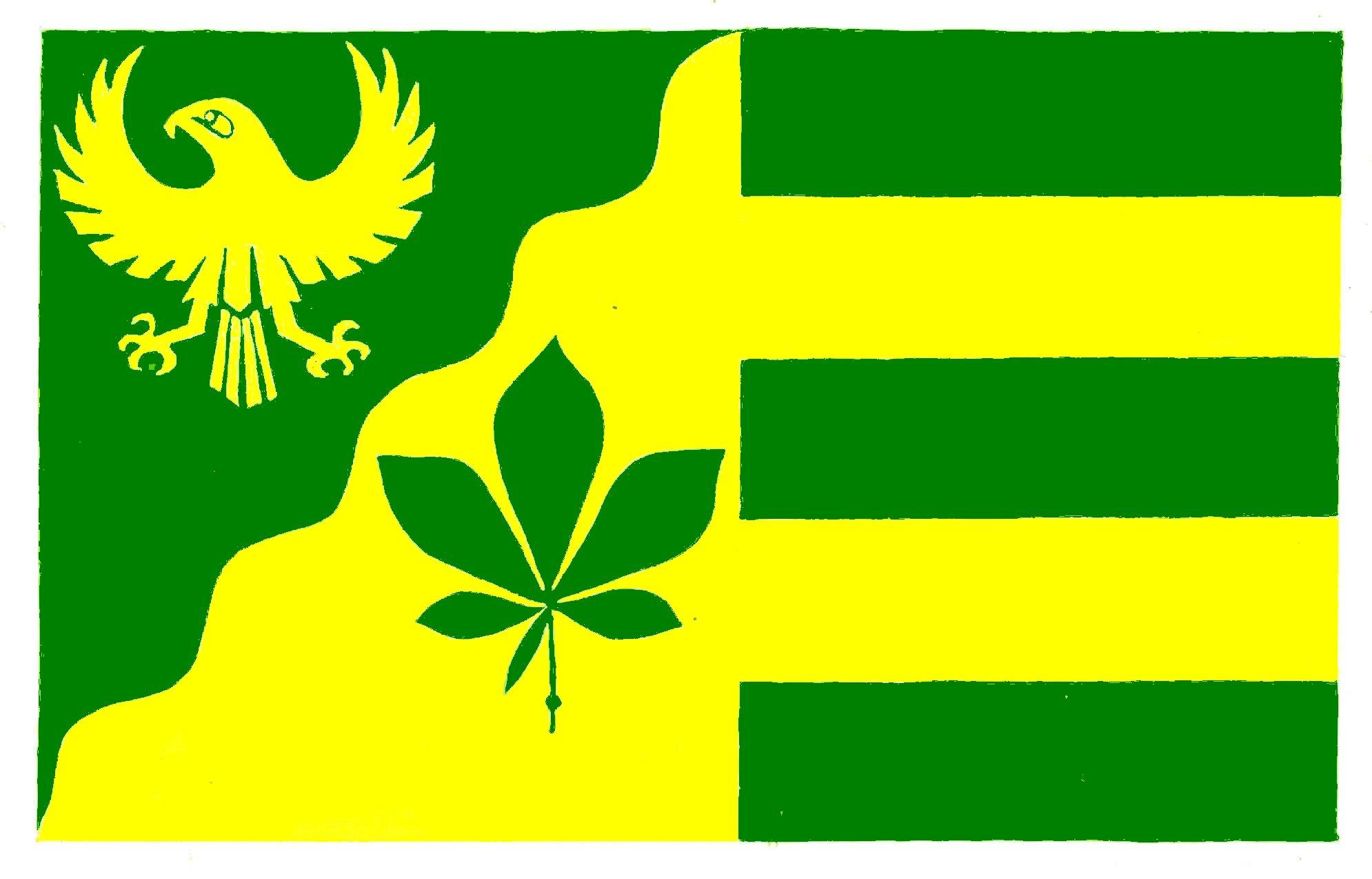 Flagge GemeindeDingen, Kreis Dithmarschen