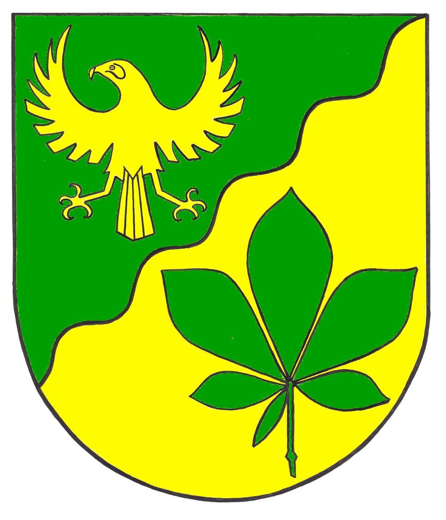 Wappen GemeindeDingen, Kreis Dithmarschen