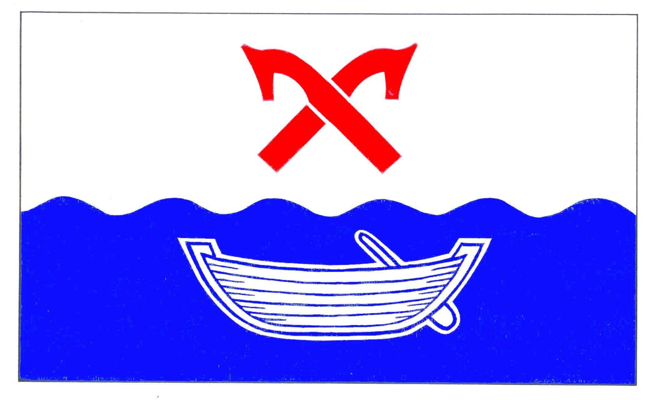 Flagge GemeindeDörnick, Kreis Plön