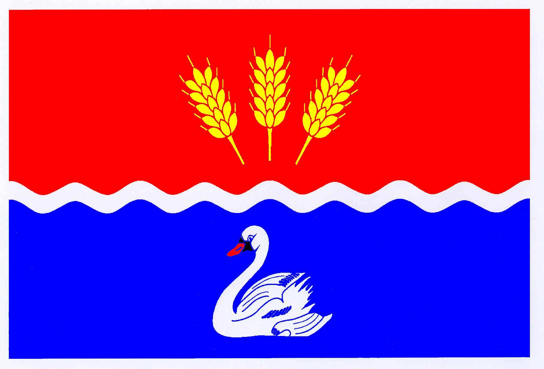 Flagge GemeindeDörphof, Kreis Rendsburg-Eckernförde