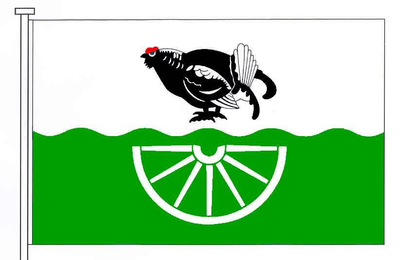 Flagge GemeindeDörpstedt, Kreis Schleswig-Flensburg