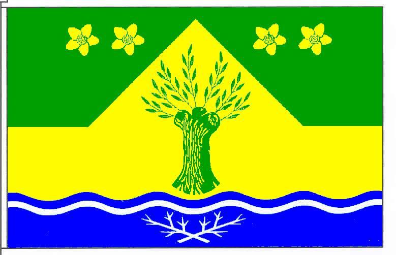 Flagge GemeindeDrage, Kreis Nordfriesland