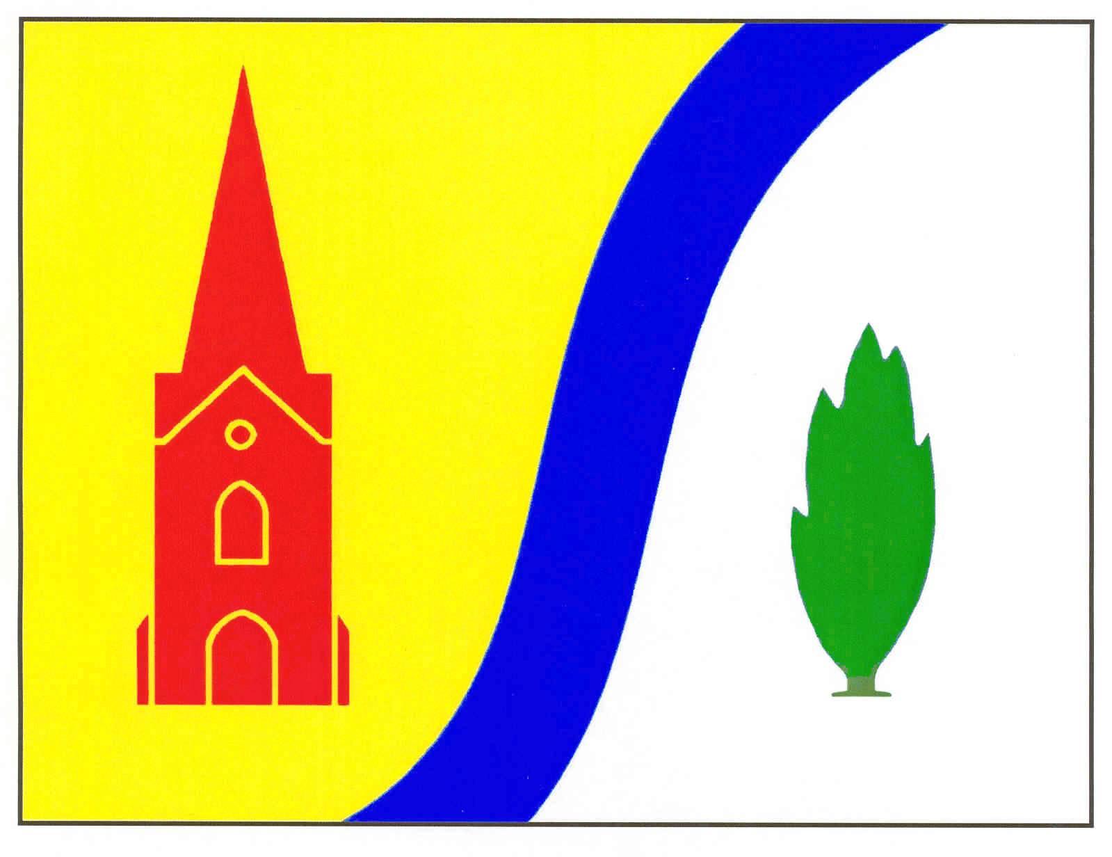 Flagge GemeindeDrelsdorf, Kreis Nordfriesland