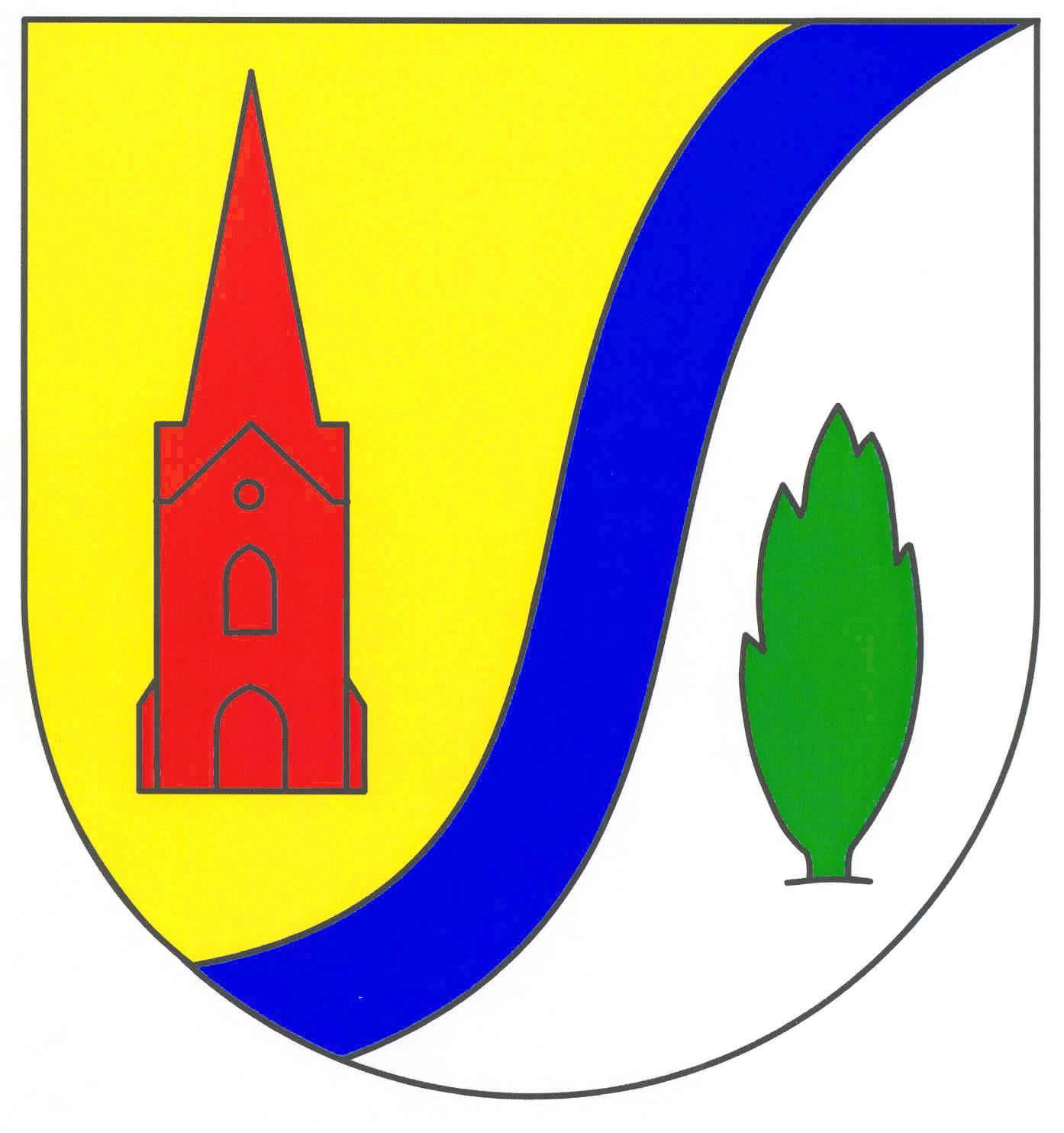 Wappen GemeindeDrelsdorf, Kreis Nordfriesland
