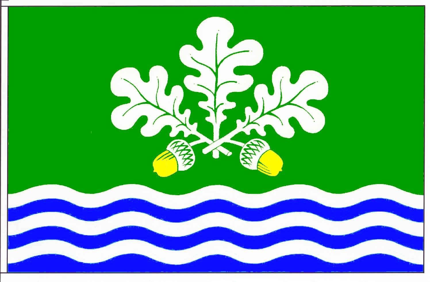 Flagge GemeindeEcklak, Kreis Steinburg