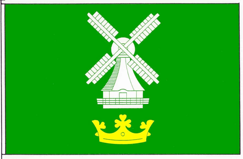Flagge GemeindeEddelak, Kreis Dithmarschen