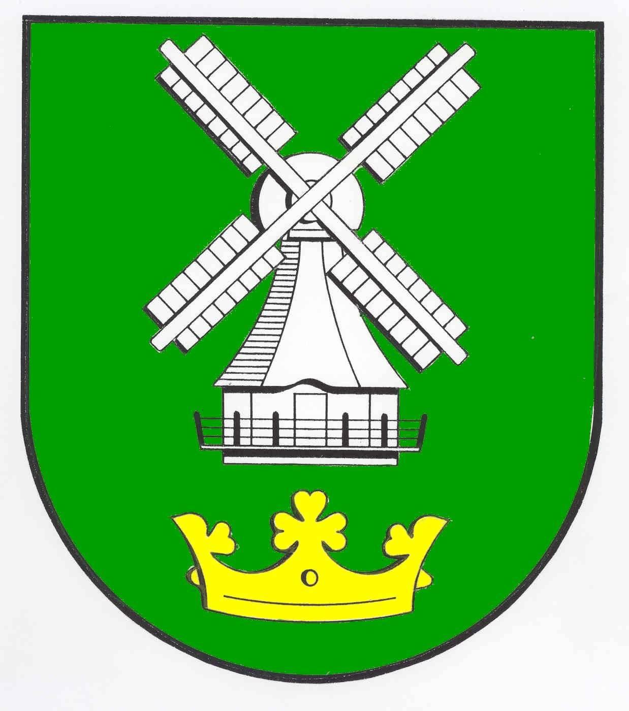 Wappen GemeindeEddelak, Kreis Dithmarschen
