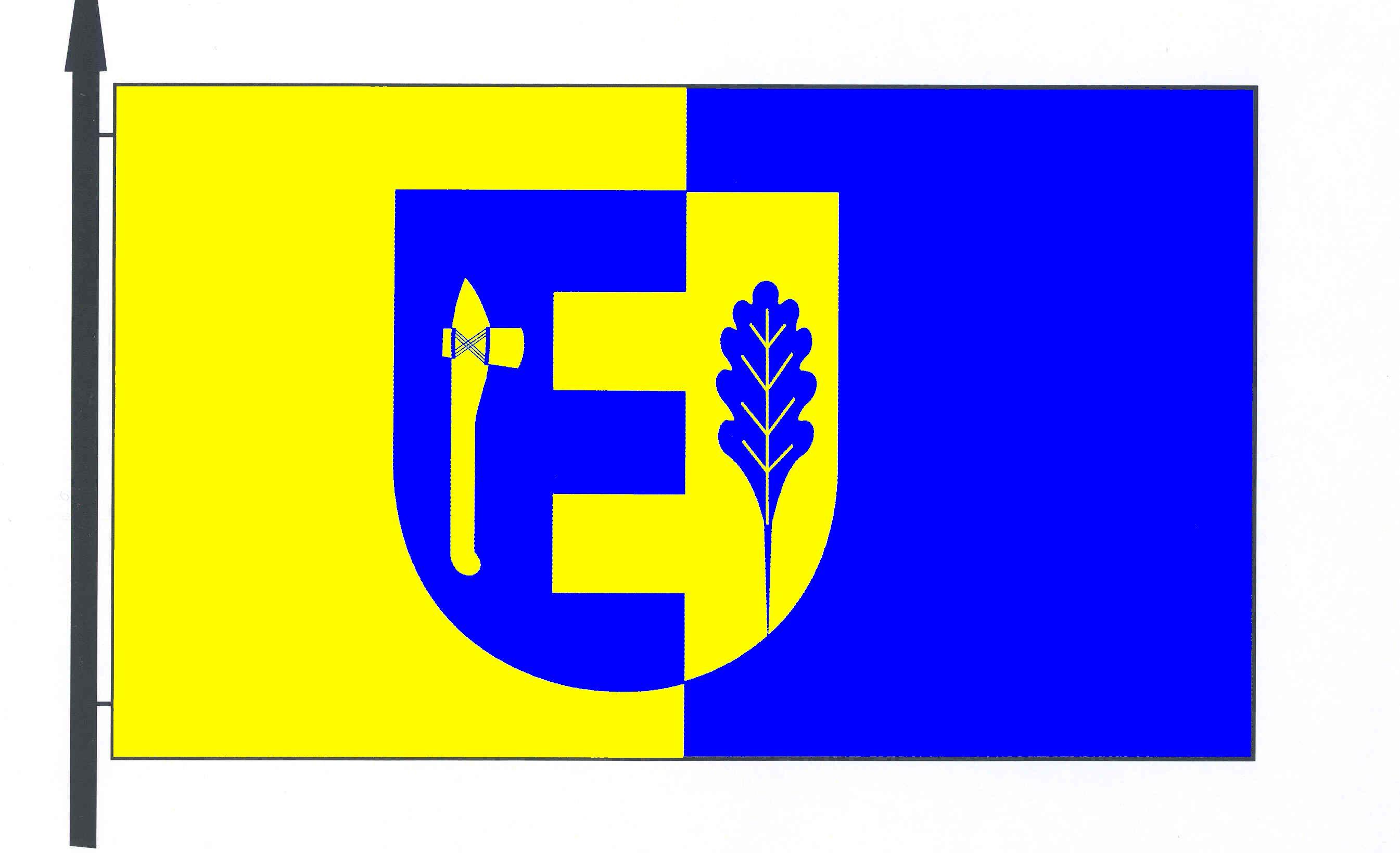 Flagge GemeindeEisendorf, Kreis Rendsburg-Eckernförde