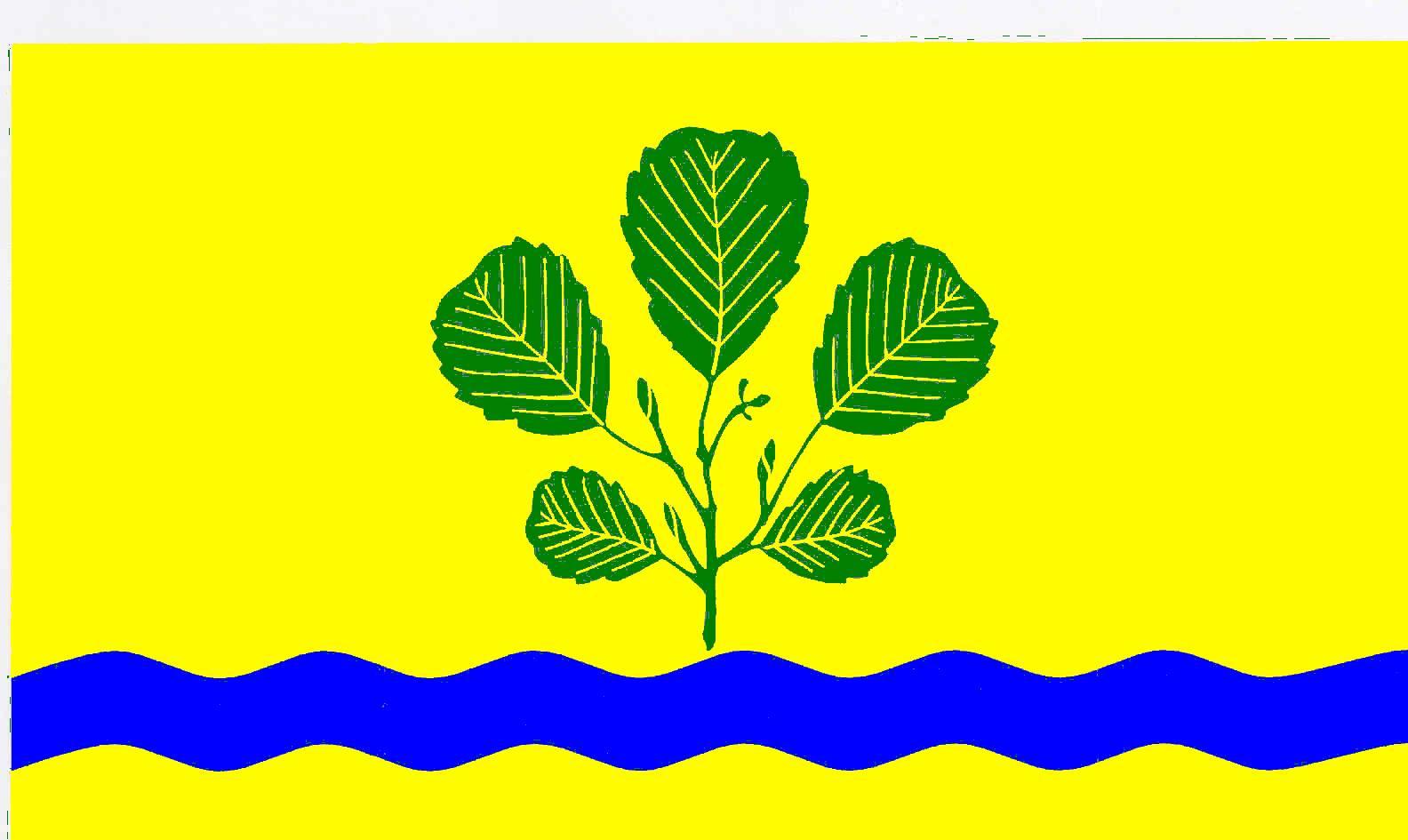 Flagge GemeindeEllerbek, Kreis Pinneberg