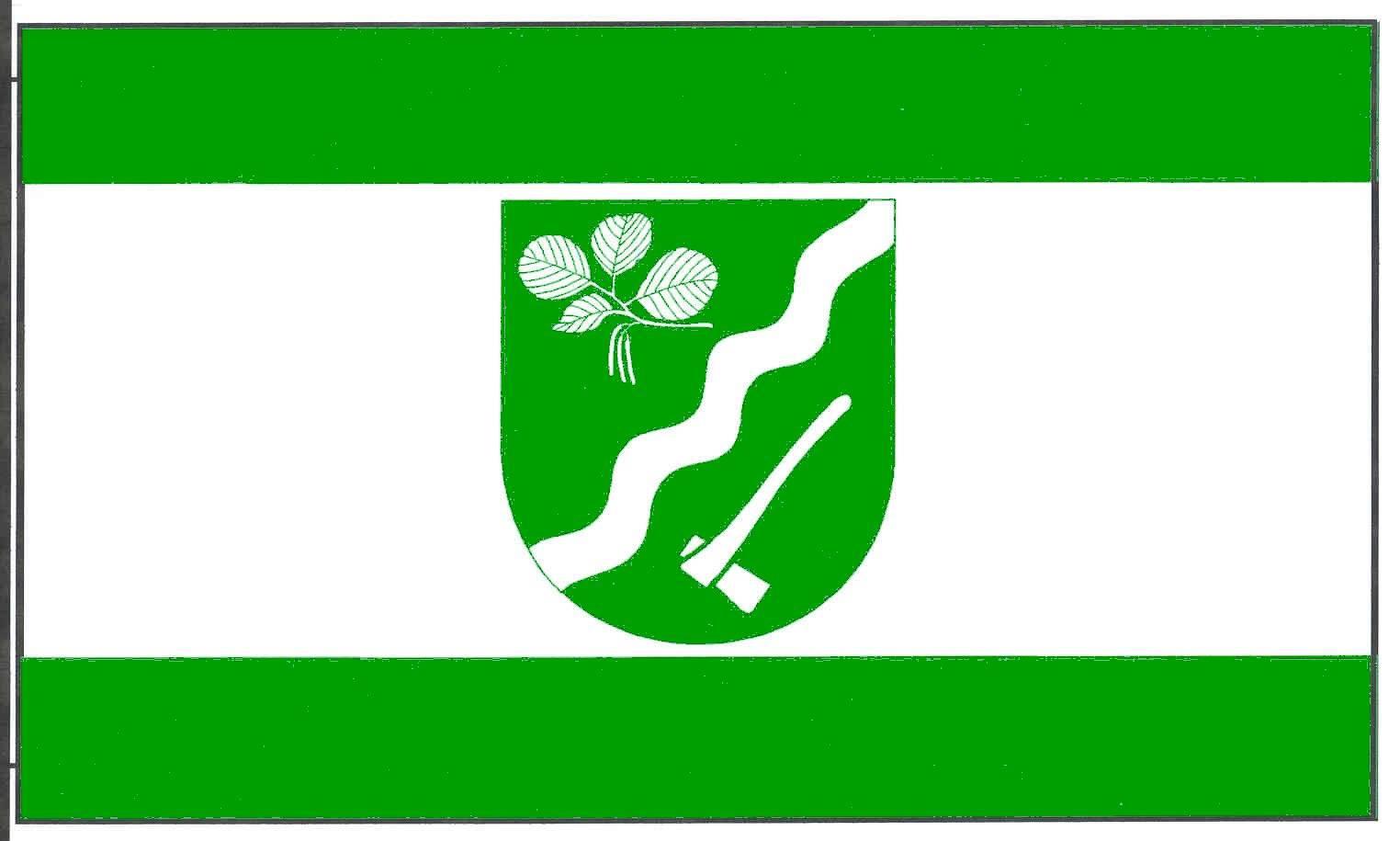 Flagge GemeindeEllerdorf, Kreis Rendsburg-Eckernförde