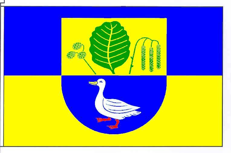 Flagge GemeindeEllingstedt, Kreis Schleswig-Flensburg