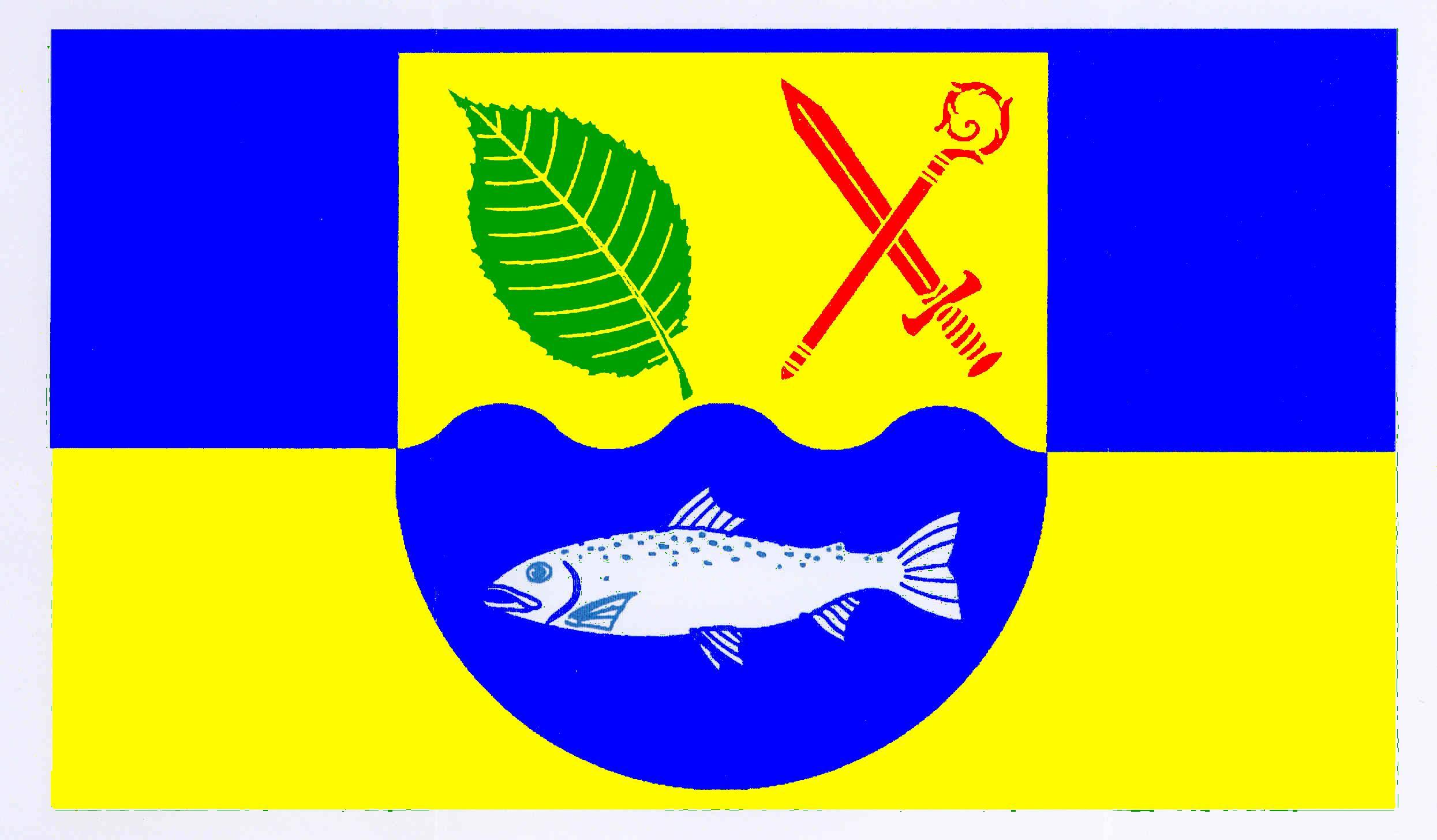 Flagge GemeindeElmenhorst, Kreis Stormarn