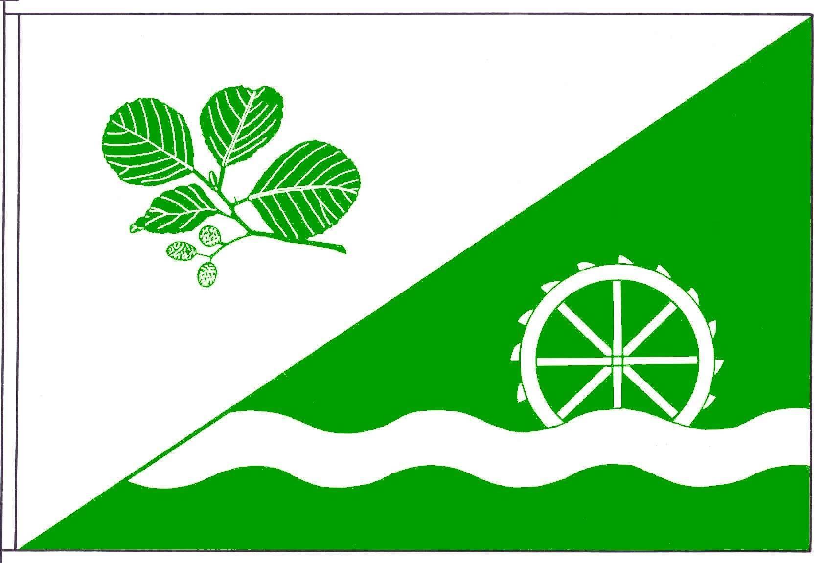 Flagge GemeindeElsdorf-Westermühlen, Kreis Rendsburg-Eckernförde