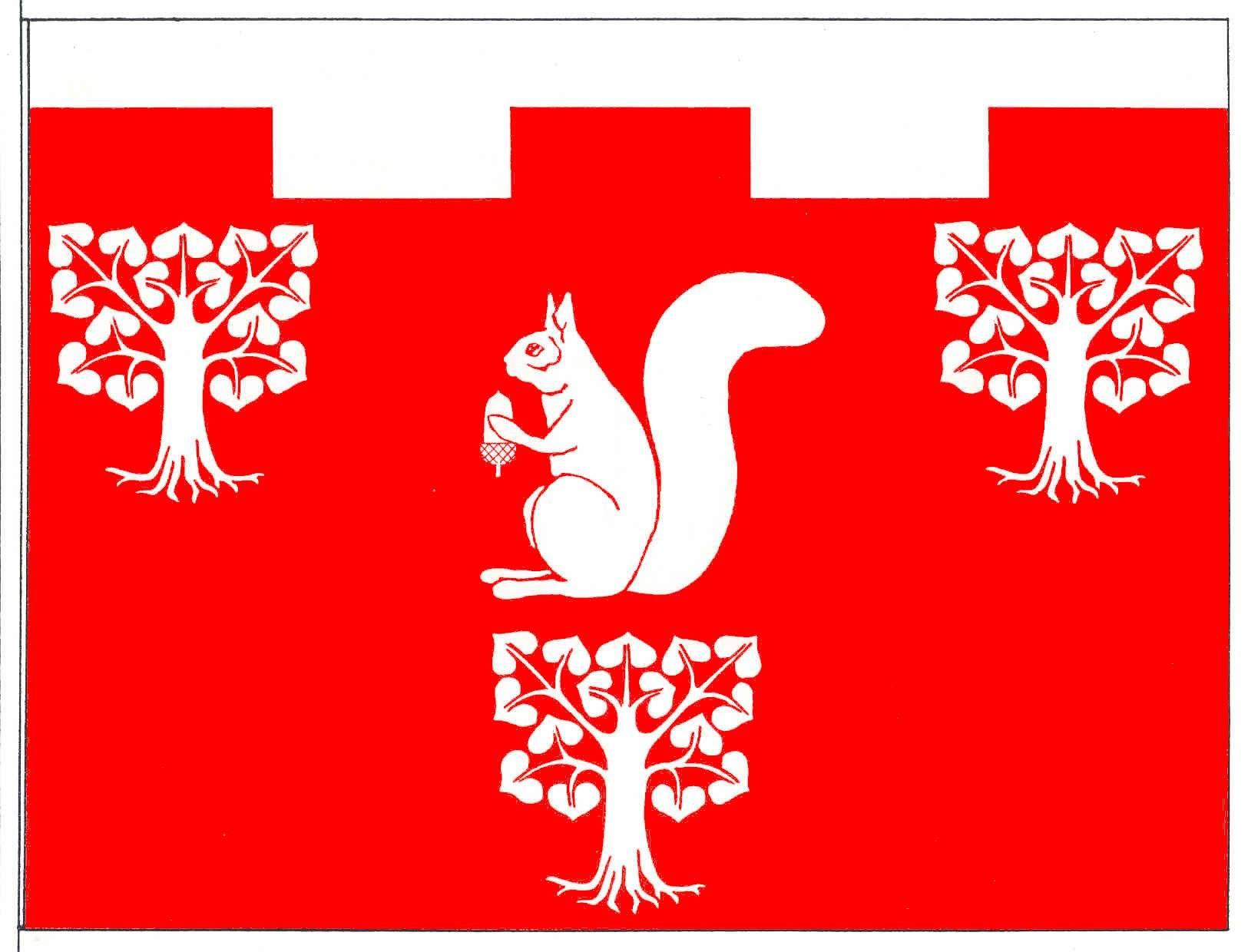 Flagge GemeindeEmkendorf, Kreis Rendsburg-Eckernförde
