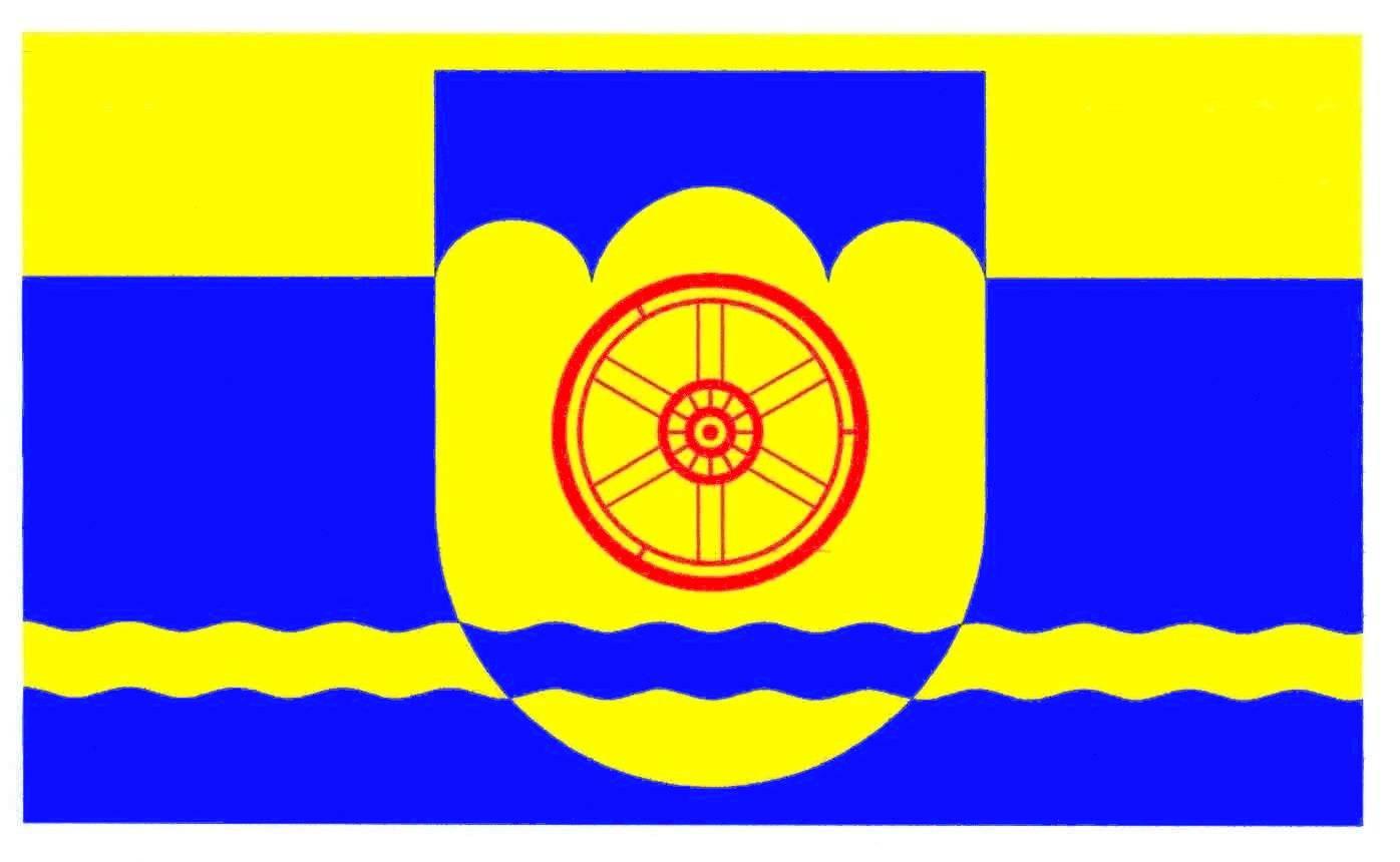 Flagge GemeindeEnge-Sande, Kreis Nordfriesland