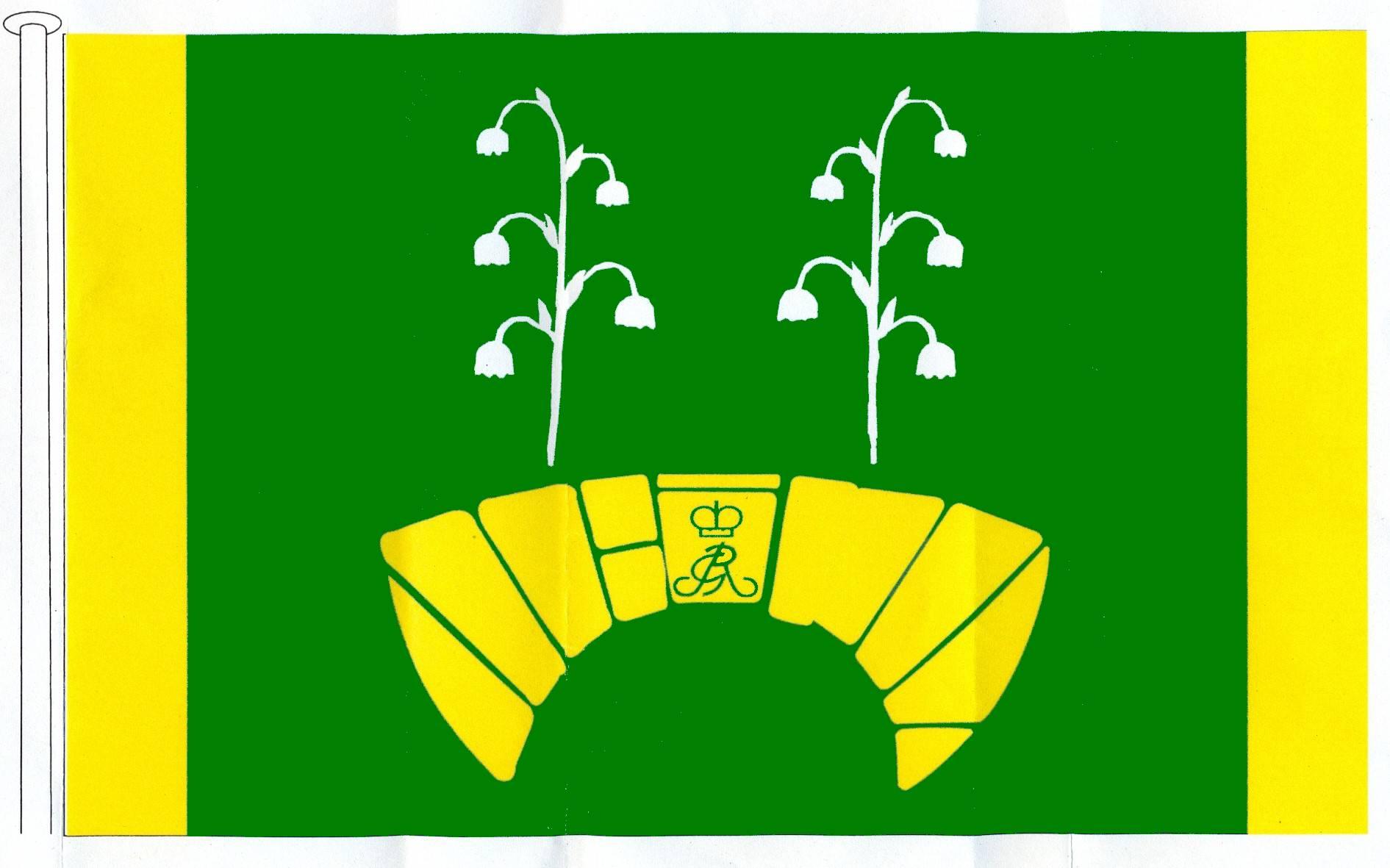 Flagge GemeindeEscheburg, Kreis Herzogtum Lauenburg